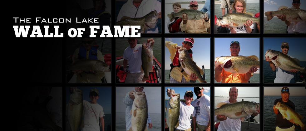 Falcon Bass Fishing Wall of Fame