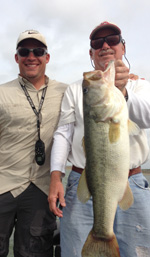 Great Bass Fishing Trip and Kind Words from Terry